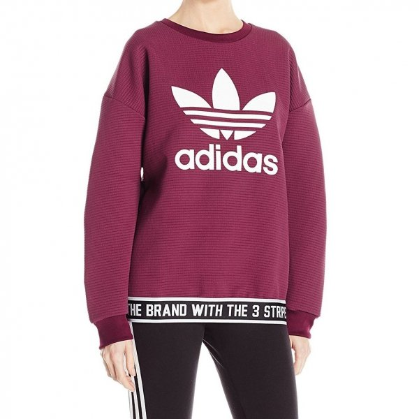 ADIDAS ORIGINALS PULOVER TREFOIL SWEATSHIRT AY8936