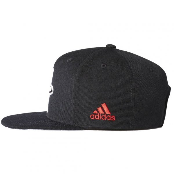 ADIDAS BASEBALL CAP  FLAT CAP HUSTON ROCKETS BK3047