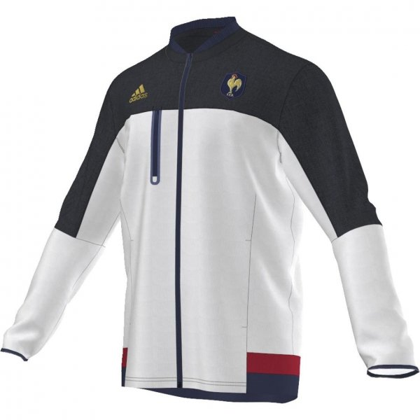 ADIDAS FEDERATION FRANCE RUGBY ANTHEM JACKET AH4664