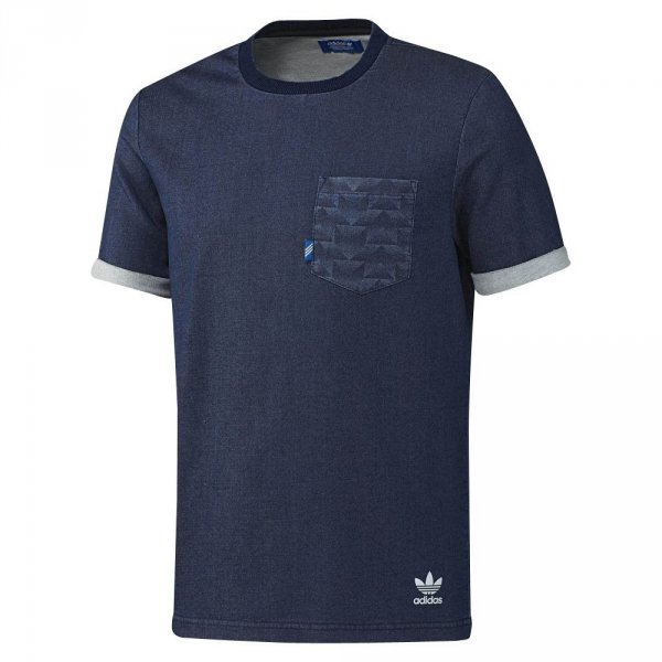 ADIDAS ORIGINALS KOSZULKA T-SHIRT FTD TEE DENIM AJ7720