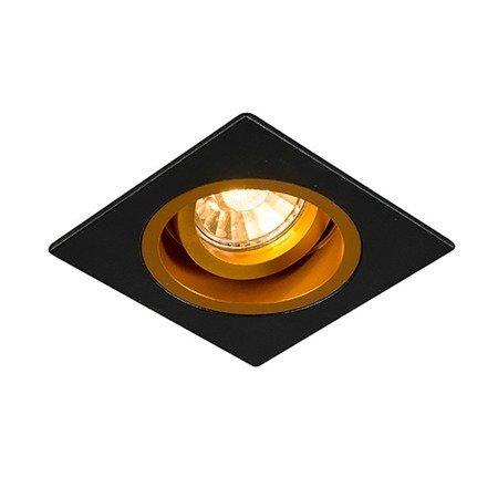 LAMPA SPOT ZUMA LINE CHUCK DL SQUARE 92706black/gold