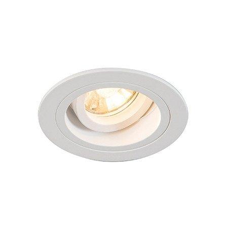 LAMPA SPOT CHUCK DL ROUND white H-92699 Zuma Line