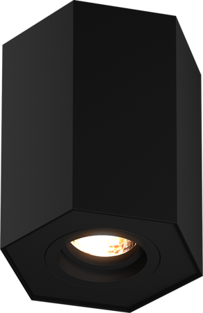 LAMPA WEWNĘTRZNA (SPOT) ZUMA LINE POLYGON CL R SPOT 20077-BK