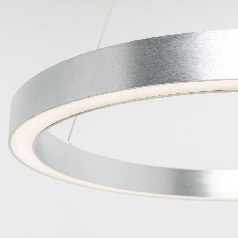 Lampa wisząca srebrna 40W 50cm CARLO PL200910-500-SL Zuma Line