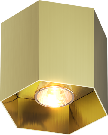 LAMPA SPOT ZUMA LINE POLYGON CL1 SPOT 20035-GD GOLD --- DODAJ PRODUKT DO KOSZYKA I UZYSKAJ MEGA RABAT ----