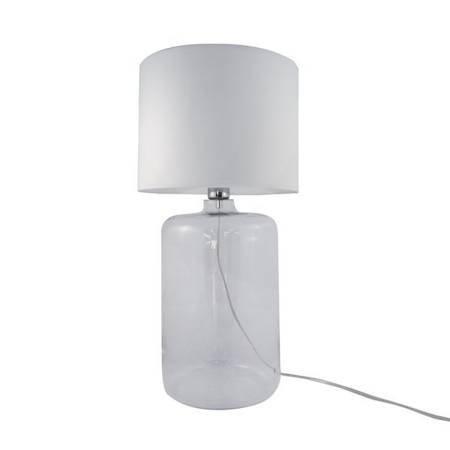 Lampa stołowa AMARSA TRANSPARENT 5506WH Zuma Line  --- DODAJ PRODUKT DO KOSZYKA I UZYSKAJ MEGA RABAT ----