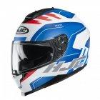 KASK HJC C70 KORO WHITE/BLUE/RED S