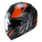 HJC C70 Kask Motocyklowy BOLTAS BLACK/ORANGE