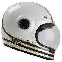 BELL BULLITT CARBON RSD MOJO WHITE/GOLD KASK MOTOCYKLOWY