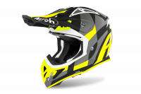 KASK AIROH AVIATOR ACE TRICK YELLOW MATT