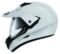 Airoh S5 kask motocyklowy enduro z szybą biały L