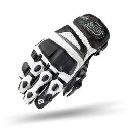 Shima XRS rękawice motocyklowe skórzane białe