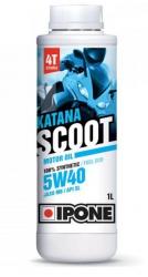 Ipone Katana Scoot 5W40 100% syntetyczny olej do skuterów 4-suwowych 1L