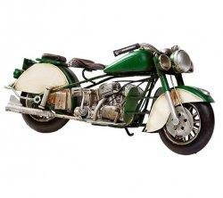 Model motocykla Retro Bike Indian Racing Green - katalog POLO