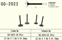 Vesrah zawór ssący Yamaha XT 600 (87-03)