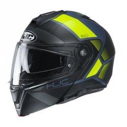 HJC I90 KASK MOTOCYKLOWY HOLLEN BLACK/FLO YELLOW