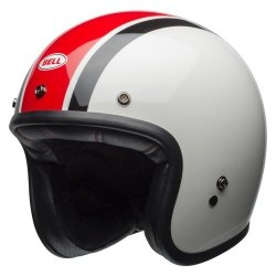 BELL CUSTOM 500 DLX KASK MOTOCYKLOWY SPECIAL EDITION ACE CAFE STADIUM WHITE/RED/BLACK