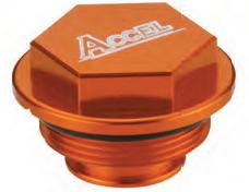 Accel tylna pokrywa pompy hamulcowej - KTM 525MXC (03-05)