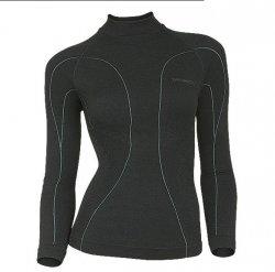 Brubeck SoftMerino termoaktywna ocieplająca bluza damska z długim rękawem