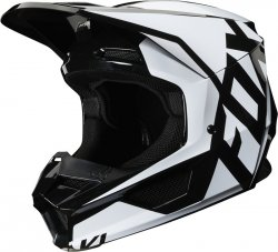 FOX V-1 KASK PRIX BLACK