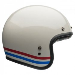 KASK BELL CUSTOM 500 DLX STRIPES PEARL WHITE XL