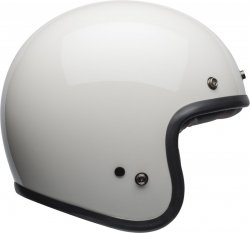 KASK BELL CUSTOM 500 DLX VINTAGE SOLID WHITE XL