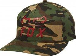 CZAPKA Z DASZKIEM FOX FURNACE FLEXFIT GREEN CAMO S/M