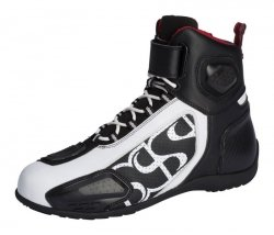 BUTY IXS RS-400 SHORT BLACK/WHITE 42