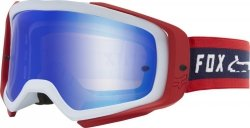 GOGLE FOX AIR SPACE II SIMP NAVY/RED - SZYBA BLUE MIRROR OS