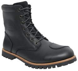 BUTY SKÓRZANE IXS OLIED LEATHER BLACK