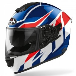 KASK AIROH ST501 FROST BLUE/RED GLOSS S