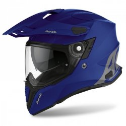 KASK AIROH COMMANDER COLOR BLUE MATT S