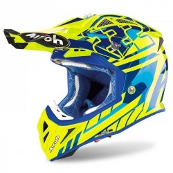 KASK AIROH AVIATOR 2.3 AMS2 REP.CAIROLI 2020 CHROME XL