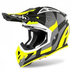 KASK AIROH AVIATOR ACE TRICK YELLOW MATT S