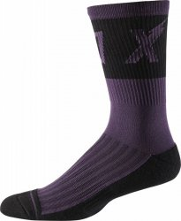 SKARPETY FOX 8 TRAIL CUSHION WURD DARK PURPLE L/XL