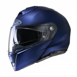 KASK HJC I90 SEMI FLAT METALLIC BLUE L