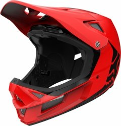 KASK ROWEROWY FOX RAMPAGE COMP INFIN BRIGHT RED M