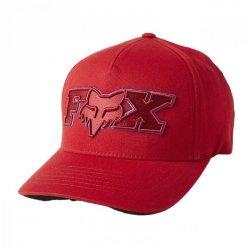 CZAPKA Z DASZKIEM FOX ELLIPSOID FLEXFIT RED S/M
