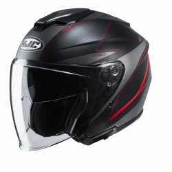 KASK HJC I30 SLIGHT BLACK/RED L