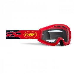 GOGLE FMF POWERCORE FLAME RED - SZYBA CLEAR OS