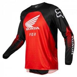 BLUZA FOX 180 HONDA BLACK/RED L