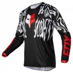 BLUZA FOX 180 PERIL BLACK/RED XL