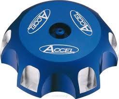 Accel korek wlewu paliwa - Honda CR 125/250 (00-10) - niebieski