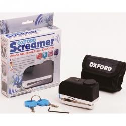 Oxford Screamer blokada tarczy hamulcowej z alarmem Trzpień 7mm