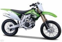 Model motocykla Kawasaki KXF 450 Skala 1:12