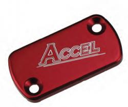 Accel przednia pokrywa pompy hamulcowej - Honda CR 80 (86-02) - czerwony