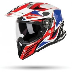 AIROH COMMANDER KASK MOTOCYKLOWY RED GLOSS