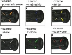 Szosowe manetki dwuskładnikowe Progrip PG717 GP