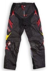Kini Red Bull Competition Black Baggy spodnie offroad z odpinanymi nogawkami
