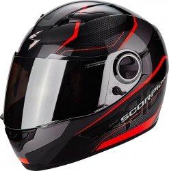 SCORPION EXO-490 Vision kask motocyklowy czarny-czerwony
